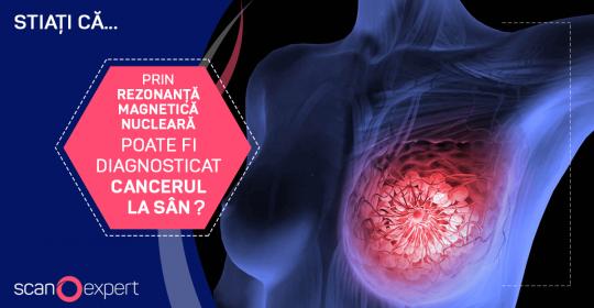 Stiați că … prin rezonanta magnetica nucleara poate fi diagnosticat cancerul la sân ?