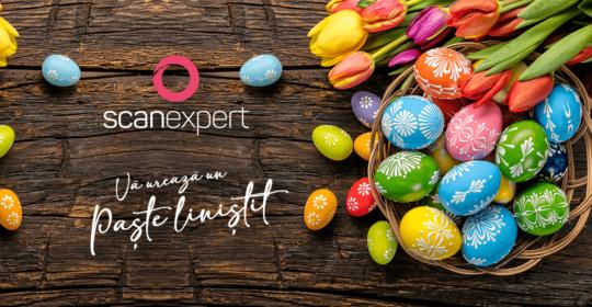 Echipa SCANEXPERT vă urează un Paște liniștit