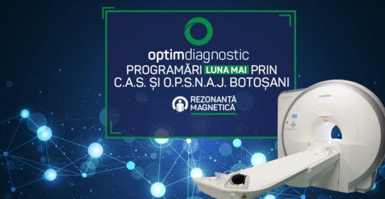 Centrul Optim Diagnostic Botosani: Program, Masuri de protectie COVID-19 și Programari prin C.A.S. si O.P.S.N.A.J.