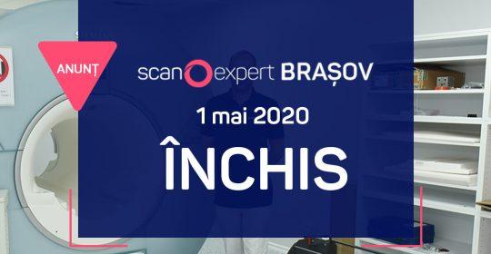 Scanexpert Brasov: 1 mai 2020 – ÎNCHIS