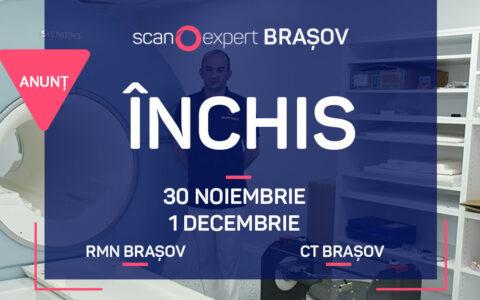 Scanexpert Brasov: 30 Noiembrie – 1 Decembrie 2020 – ÎNCHIS