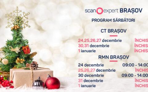Scanexpert Brașov: Program de sărbători